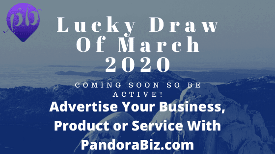 Lucky Draw Of March 2020 Coming Soon Be Active