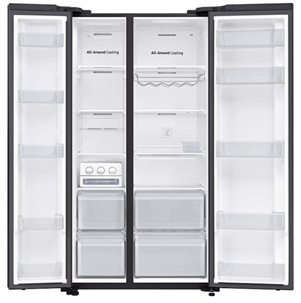 Samsung 700L RS72R50112C/TL SpaceMax Technology Side by Side Refrigerator By PandoraBiz.com